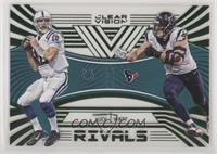 Andrew Luck, J.J. Watt #/19