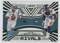 Von Miller, Cam Newton [Noted] #/19
