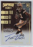 Rookie Ticket RPS Variation - Trevor Davis /99