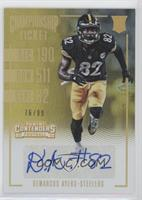 Rookie Ticket - Demarcus Ayers #/99