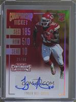 Rookie Ticket Variations - Tyreek Hill /49