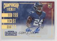 Rookie Ticket Variations - Eli Apple #/25