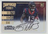 Rookie Ticket RPS Variation - Braxton Miller #/25