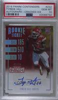 Rookie Ticket Variations - Tyreek Hill /24 [PSA 10 GEM MT]