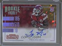 Rookie Ticket Variations - Tyreek Hill /24