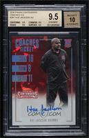 Coaches Ticket - Hue Jackson [BGS 9.5 GEM MINT] #/24