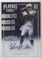 Rookie Ticket Variations - Erik Swoope #/99