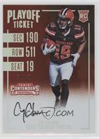 Rookie Ticket RPS - Corey Coleman #/99