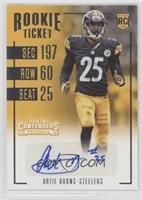 Rookie Ticket - Artie Burns