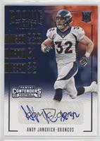 Rookie Ticket Variations - Andy Janovich