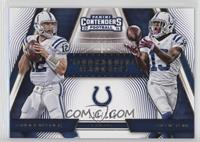Andrew Luck, T.Y. Hilton #/199