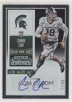 College Ticket Variation - Connor Cook (White Jersey) #/99