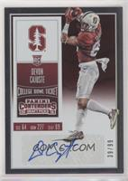 College Ticket Variation - Devon Cajuste (Red Jersey) #/99