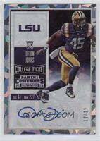 College Ticket - Deion Jones /23