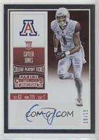 College Ticket - Cayleb  Jones #/15