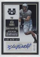 College Ticket - Kyler Fackrell /15