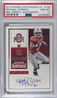 College Ticket - Michael Thomas (Base) [PSA 10 GEM MT]