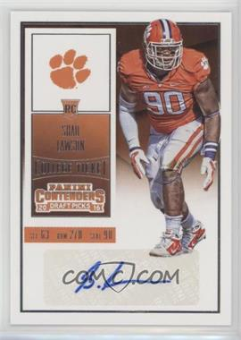 2016 Panini Contenders Draft Picks - [Base] #202 - College Ticket - Shaq Lawson