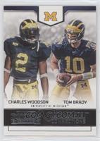 Charles Woodson, Tom Brady