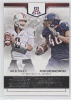 Nick Foles, Rob Gronkowski