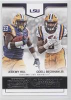 Jeremy Hill, Odell Beckham Jr.