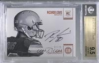 Rookie Endorsements - Ricardo Louis [BGS 9.5 GEM MINT] #/75