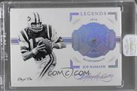 Legends - Joe Namath /1 [ENCASED]
