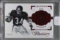 Legends - Walter Payton /15 [ENCASED]