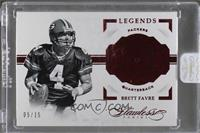 Legends - Brett Favre /15 [ENCASED]