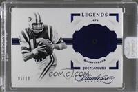 Legends - Joe Namath [Uncirculated] #/10