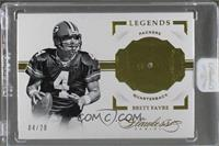 Legends - Brett Favre /20 [ENCASED]