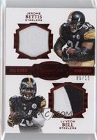 Jerome Bettis, Le'Veon Bell #/15