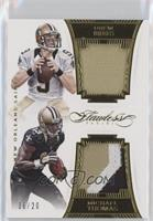Drew Brees, Michael Thomas /20