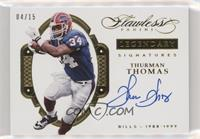 Thurman Thomas #4/15