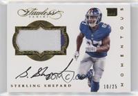 Sterling Shepard #/25