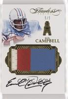 Earl Campbell #/5