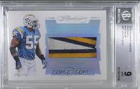 Junior Seau /1 [BGS 9 MINT]