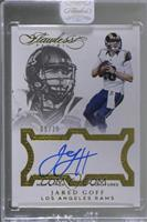 Jared Goff [Uncirculated] #/15