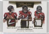 Devonta Freeman, Julio Jones, Matt Ryan /10