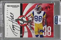 Torry Holt (2000 Donruss Signature Series) /9 [ENCASED]
