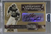 Kellen Winslow (2001 Playoff Contenders) [BuyBack] #/34