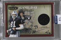 Tim Brown (2001 Playoff Honors) /16 [Buy Back]