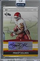 Priest Holmes (03 Playoff Silver Signatures) /86 [Buy Back]