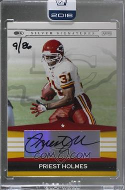 2016 Panini Honors - Recollection Collection #03PSS-PH - Priest Holmes (03 Playoff Silver Signatures) /86 [BuyBack]