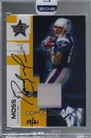 Randy Moss (2007 Leaf Rookies & Stars) /21 [BuyBack]