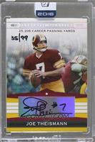 Joe Theismann (2007 Playoff) [Buy Back] #35/99