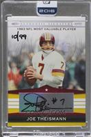Joe Theismann (2007 Playoff) /99 [ENCASED]