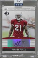 Antrel Rolle (2008 Donruss Playoff Silver Signature) /5 [BuyBack]