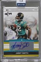 Jimmy Smith (2008 Donruss Playoff Silver Signatures) [Buy Back] #/99