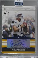 Philip Rivers (2008 Donruss Silver Signatures) [Buy Back] #/17